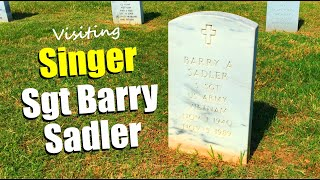 FAMOUS GRAVE-Visiting Nashville National Cemetery & Remembering The Ballad Of The Green Berets