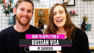 Getting Our Russian Visa in China Was Easy | Visa Application Form