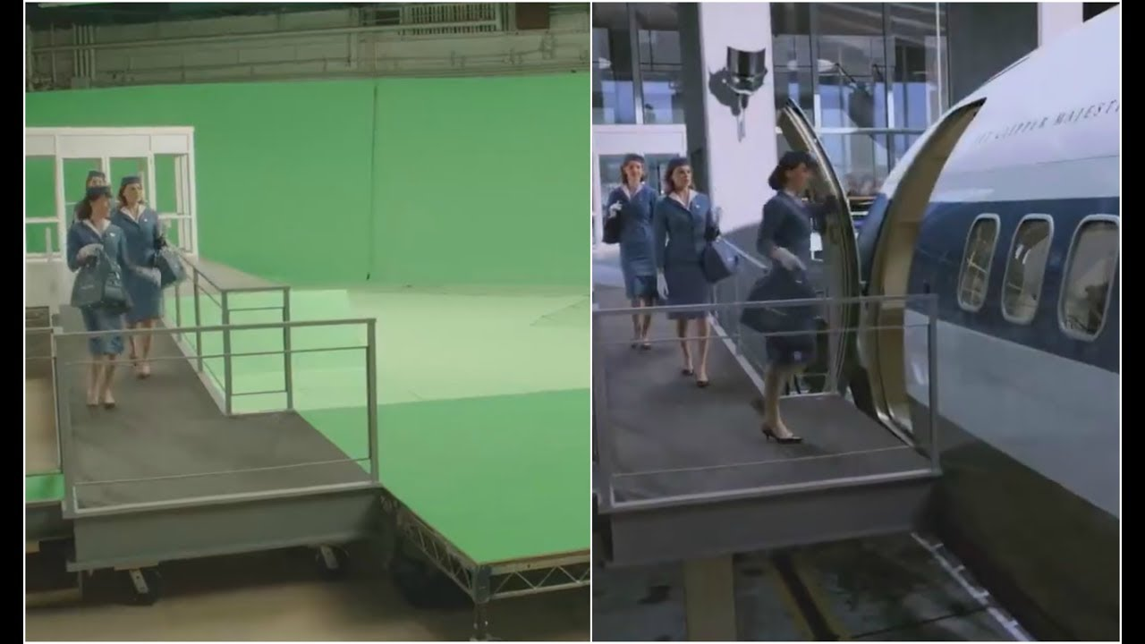 Download Top Amazing Work in movies (VFX) (CGI) before and after shot