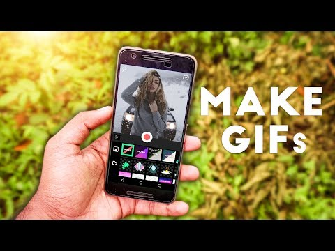 How To : Make GIFs Using Android Phone 😍