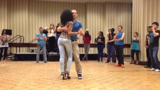Felicien and Isabelle  Kizomba Demo Toronto