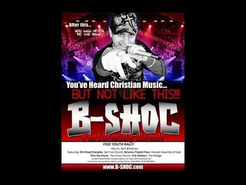 B SHOC LIVE IN CLEVELAND GA YOUTH RALLY 2014.. LIVE !!!!!!