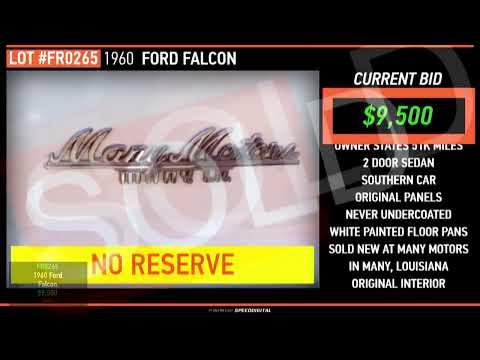 GAA Classic Cars Auction Live Stream Friday, Nov. 8, 2019