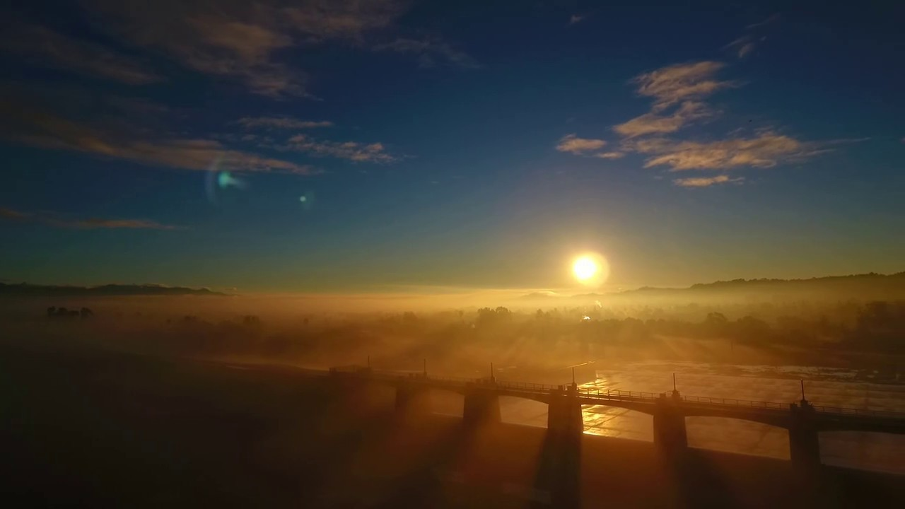 Misty Morning Sunrise - YouTube