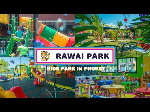Rawai Park – Phuket's #1 family hotel with kids playgrounds, kids club, water park  and restaurant