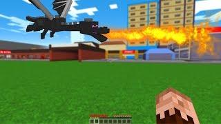 ŞEHRE EJDERHA GELDİ! 😱 - Minecraft Video