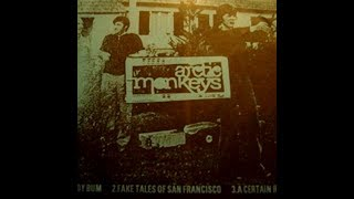 Arctic Monkeys - A Certain Romance | Beneath The Boardwalk | Lyrical Video