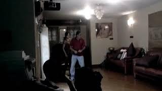 Ambi dance with Sumalata