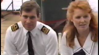 Andy and Fergie - before they married