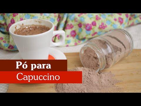 PÓ PARA CAPUCCINO DIET CASEIRO
