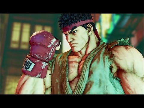 Street Fighter 5 - Online Matches #1 (PS4 Beta) Stream @ 108
