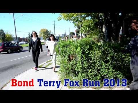 Bond Academy Charity Activity 2013 Terry Fox Run