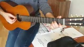 GİTAR'DA temel akorlar egzersiz pima