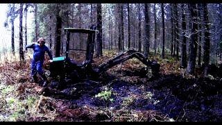 Stuck in Mud - Towable ATV Backhoe Kellfri