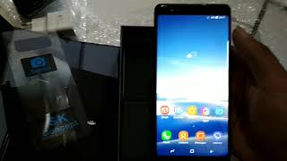 Unboxing samsung note 8 hdc ultimate infinity display.