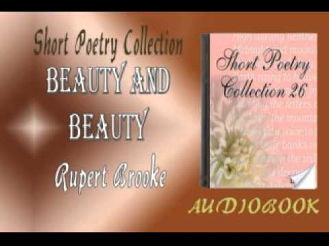 Beauty and Beauty Rupert Brooke Audiobook Short Poetry