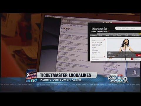 Ticketmaster lookalike site snares concert goers
