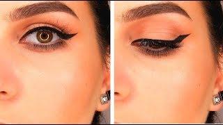 Eyeliner for hooded eyes - ايلاينر للعيون المبطنة