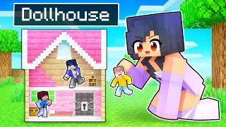 Locking Friends in DOLL HOUSE in Minecraft!