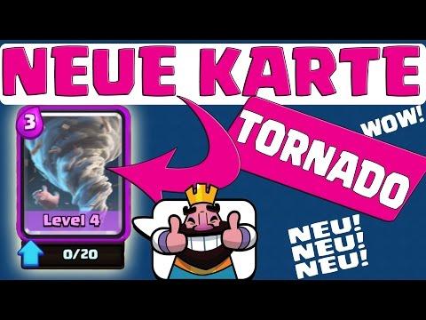 NEUE KARTE - DER TORNADO geleaked    CLASH ROYALE    Let's Play CR [Deutsch/German Android iOS]