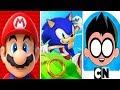 Super Mario Run vs Sonic Dash vs Teen Ti