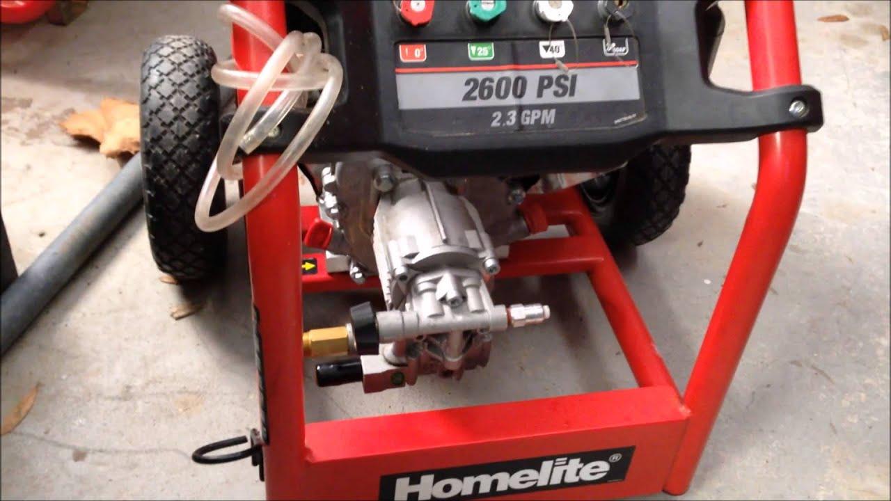 Husky Gas Power Washer.powerfit Vertical Brass 3100 Psi