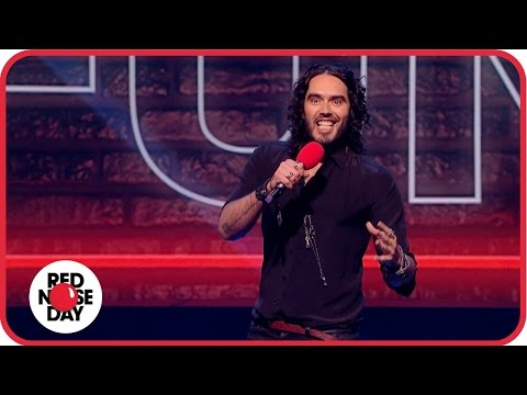 Stand-up set by Russell Brand