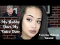 My Hubby Does My Voice Over || Everyday Makeup Tutorial