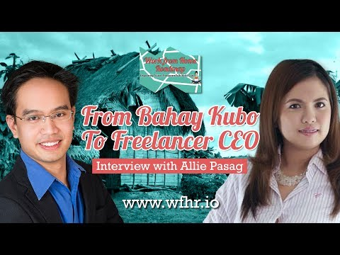 🔴 From Bahay Kubo To Freelancer CEO | Allie Pasag | JasSuccess 008