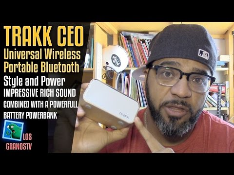 TRAKK CEO Bluetooth Speaker/PowerBank 🔊 + 🔋  : LGTV Review