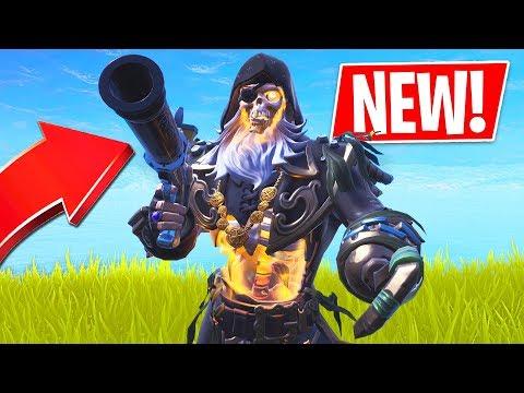 Fortnite *NEW* Flint Knock Pistol Gameplay Update!! *Pro Fortnite Player* (Fortnite Battle Royale) thumbnail