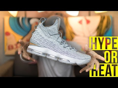 DON'T BUY THESE WITHOUT WATCHING THIS FIRST! LeBron XV (Wolf Grey) | Hype Or Heat
