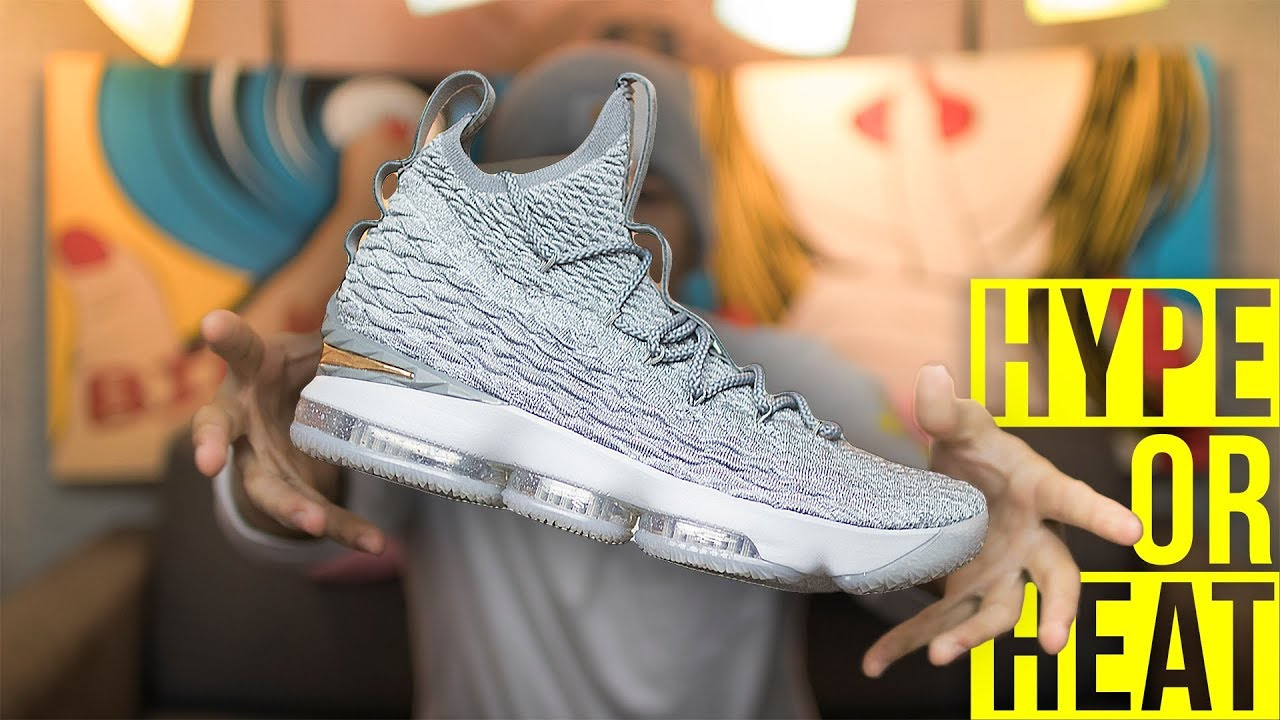3f7220c910e98 DON T BUY THESE WITHOUT WATCHING THIS FIRST! LeBron XV (Wolf Grey ...