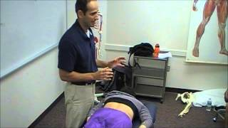Mobilization of Lumbar Facets