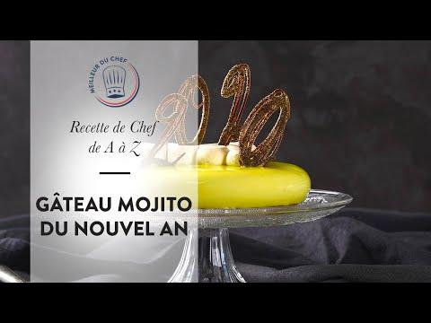 recette-du-nouvel-an-:-le-gâteau-mojito-du-chef-thierry-bamas