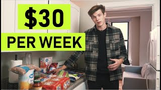 How To Live On $30 A Week