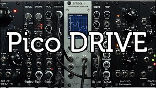 Erica Synths Pico DRIVE demo