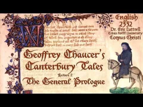2332 Chaucer, Part II: The General Prologue