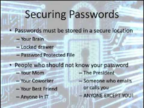 IT Security Basics
