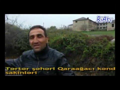 Tərtər Qaraağacı kənd sakinləri