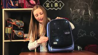 Обзор Школьных рюкзаков ZiBi, модель Koffer