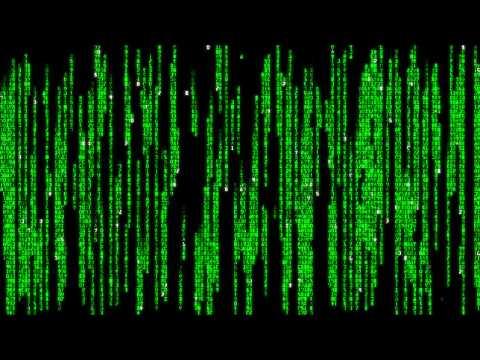 Matrix Raining Code - YouTube