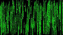 Matrix Raining Code