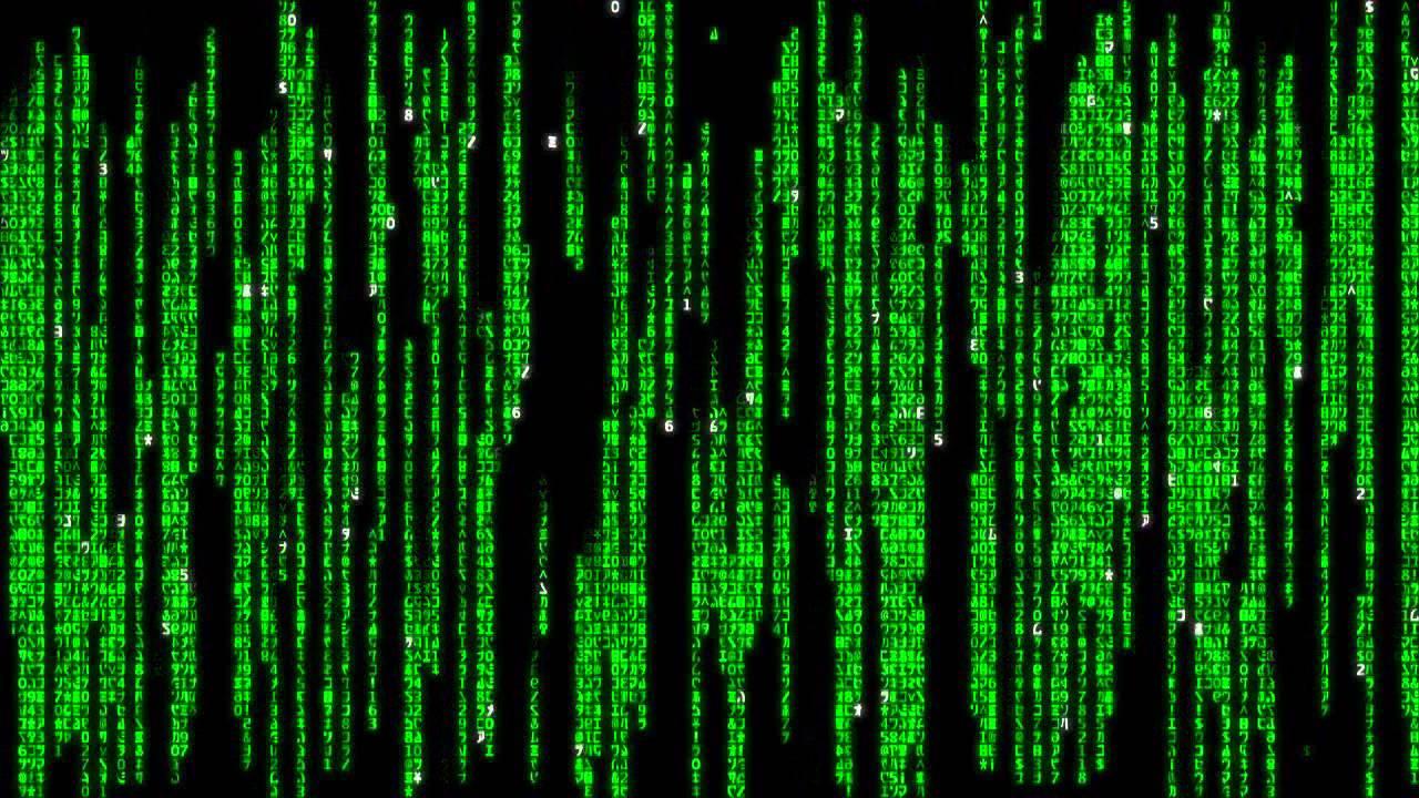 Matrix Raining Code  YouTube