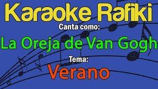 La Oreja de Van Gogh - Verano Karaoke Demo
