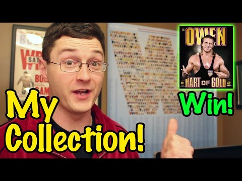 My Wrestling Collection + WIN THE OWEN HART BLURAY! | Wrestling With Wregret