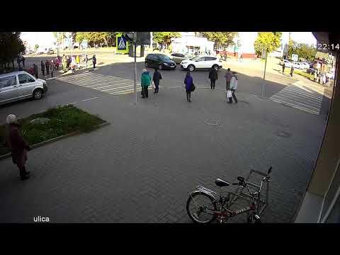ДТП Тамбов ул. Советская 1-ая Полковая 04.10. 2017