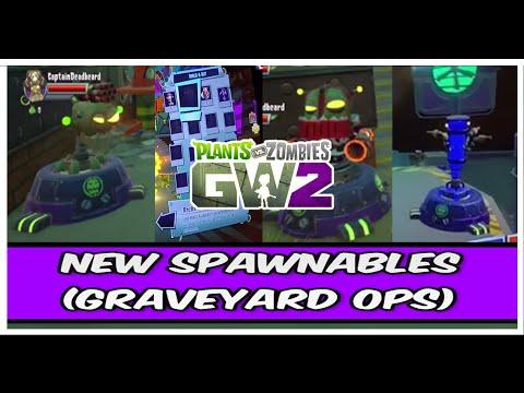 Plants vs Zombies Garden Warfare 2 - NEW SPAWNABLES (Build-A-Bot)