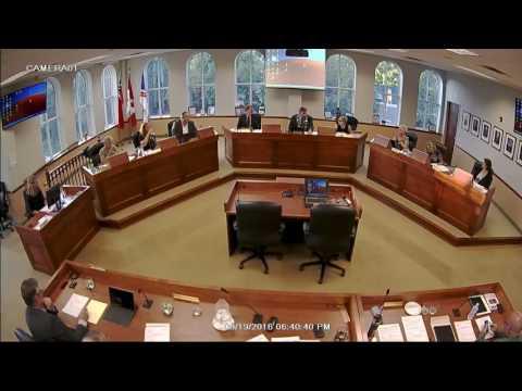 Council Meeting - Sept 19, 2016