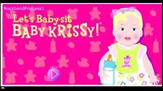 Barbie Games - Barbie Baby Krissy Game